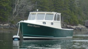 The Aj 28 Lobster Boat